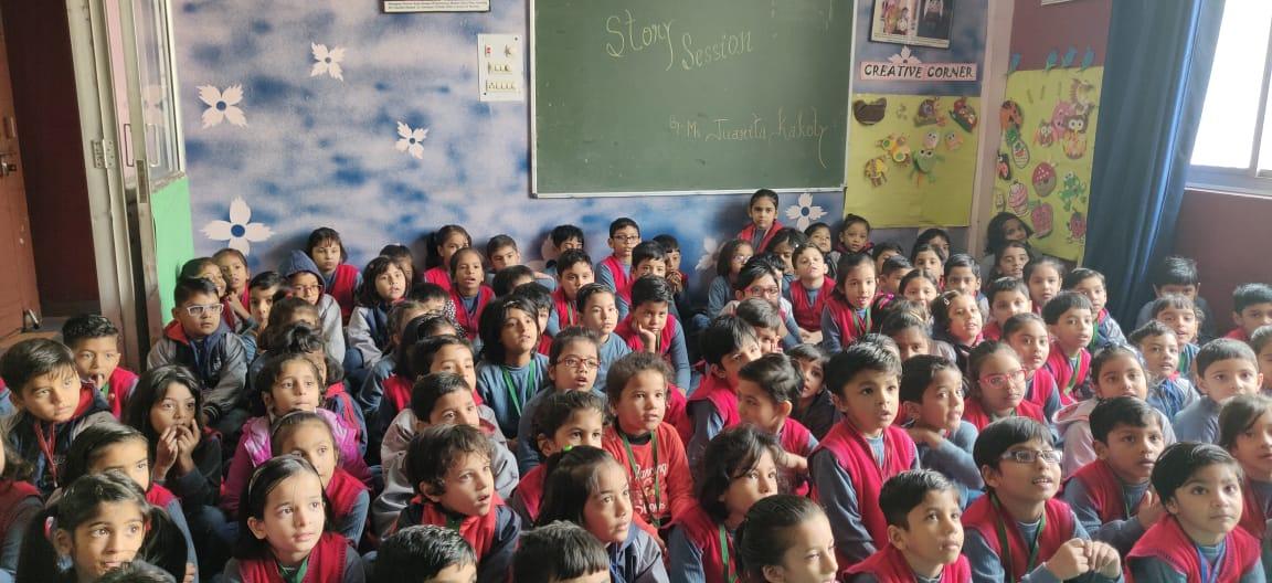 Ryan International School Students